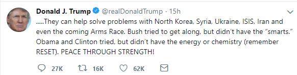 Donald J Trump realDonaldTrump Twitter